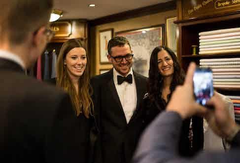 Arabella Boardman, Ryan Thompson and Jema Avedian.