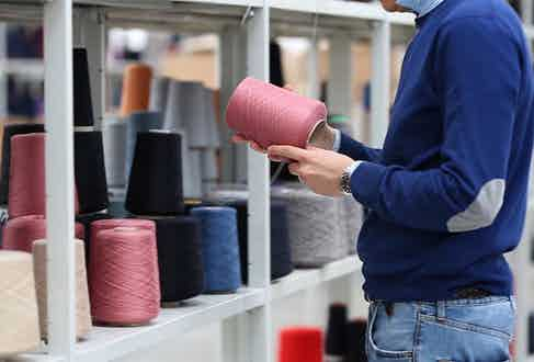 Yarns are selected based on their superb quality and the possibilities they offer in production.