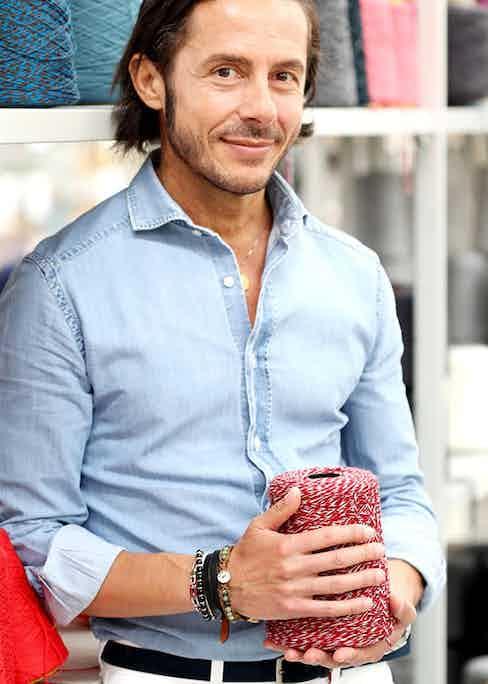 Carlo Di Stefano, Gran Sasso's global brand manager.