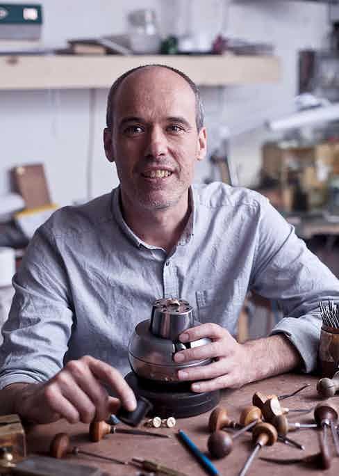 Rebus' director Emmet Smith.