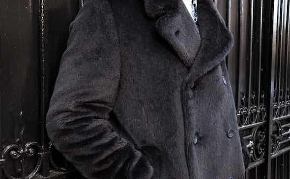 Mason & Sons' Alpaca pea coat