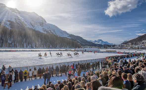 Alps & Meters at the Snow Polo World Cup