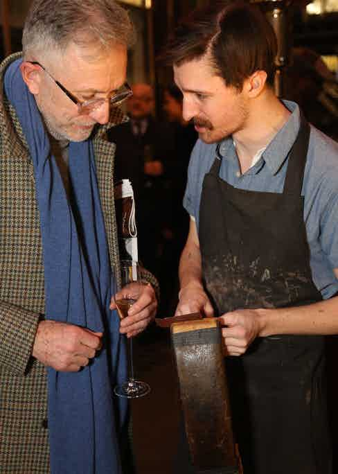 David Evans of Grey Fox Blog takes an interest in the bespoke work.