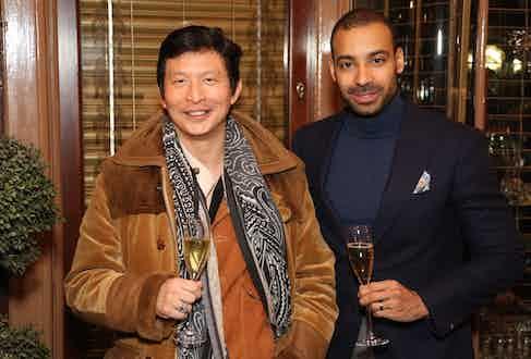 Wei Koh and Alain Gafundi.