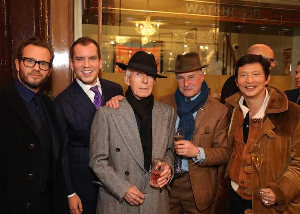 George Bamford, George Glasgow Jr, Edward Sexton, Jeremy Hackett and Wei Koh.