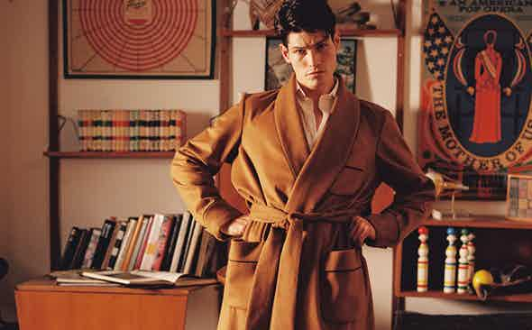 The World's Most Expensive Dressing Gown