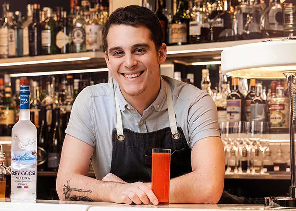 Gianluca Pavanello Canella, head bartender at The Swift.