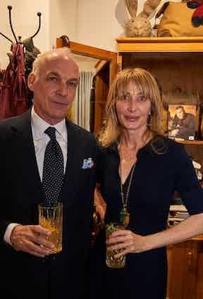 Tony Brand and Anda Rowland