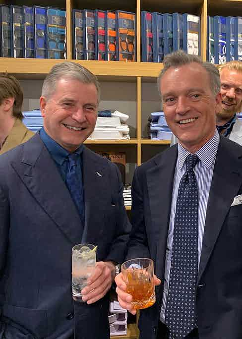 Jeremy Hackett and Douglas Cordeaux.