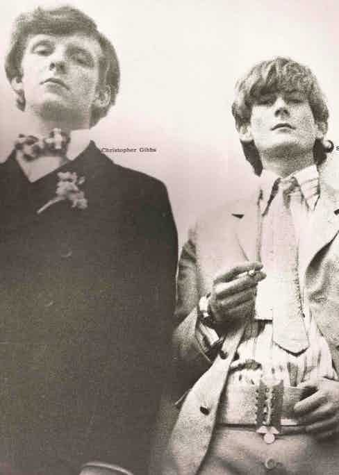 Christopher Gibbs & Sir Mark Palmer.