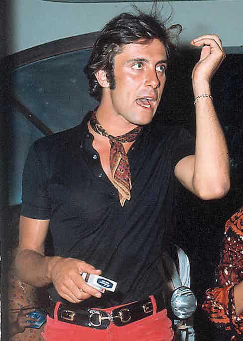 Gigi Rizzi in St Tropez, 1968.