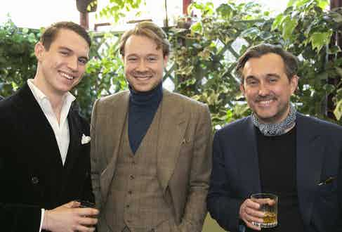 Benedict Browne, Alex Cvetkovic, Chris Modoo