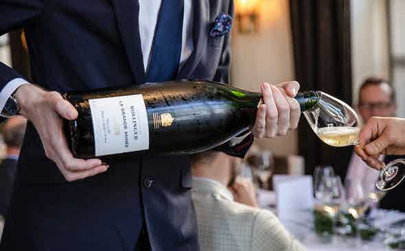 Expertly Effervescent: the Launch of Bollinger La Grande Année 2008
