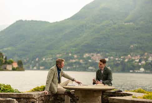 Simon Kidston and Benedict Browne.