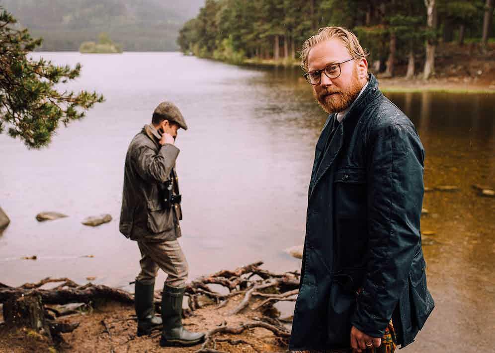 Andreas of @flannels_and_tweed and Matt Hranek.
