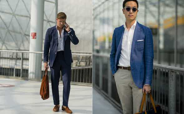 WHAT WEARING BLUE SAYS ABOUT YOU