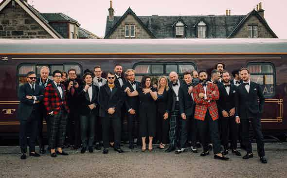A regal ride with WM Brown Project, The Rake and The Belmond Royal Scotsman