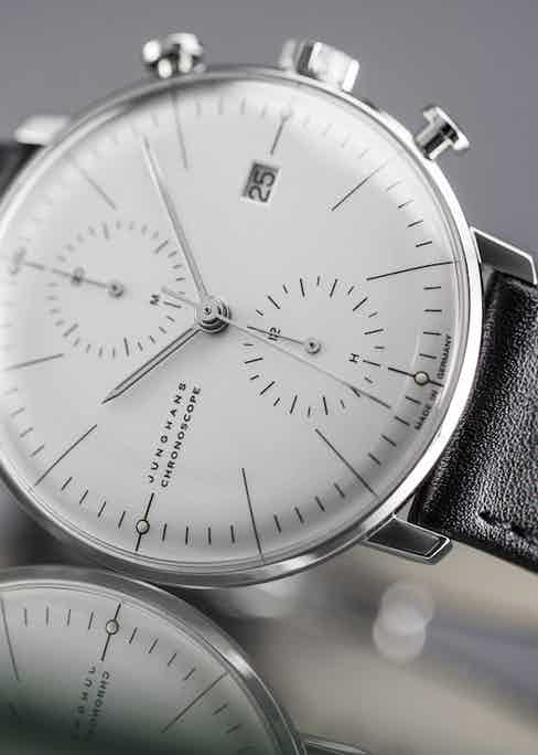 The Max Bill Chronoscope is a timeless design and represents incredible value.