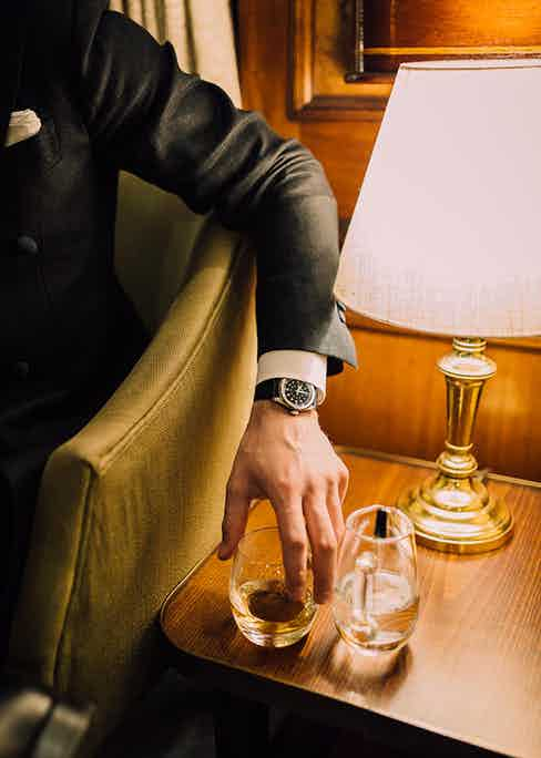 Watches and whisky, the sartorialist's best friends.
