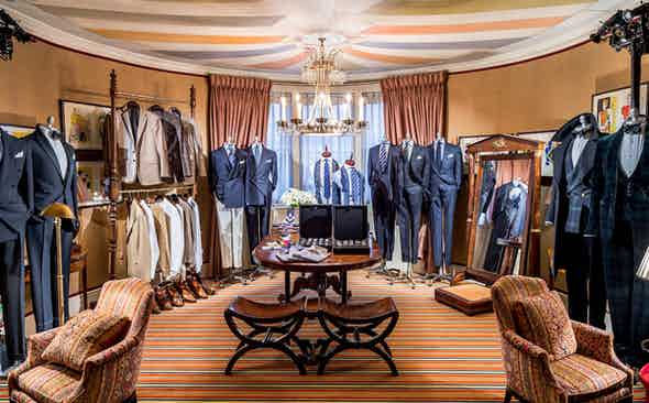 Ralph Lauren Private Dinner And Made-to-Measure Pop-Up at Mark's Club