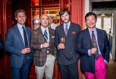Torbjorn Midsem, Mo Coppoletta, Maximilien Poux and Wei Koh.