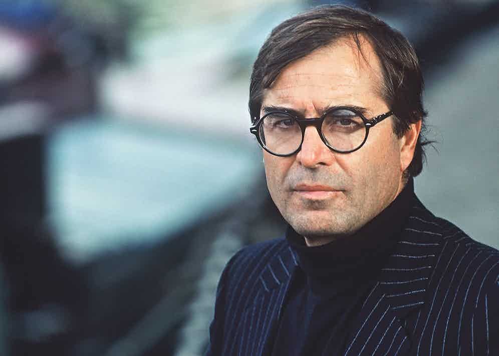 A portrait of the author in Paris in 1992