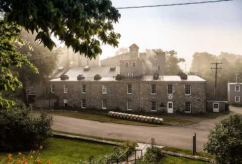 Woodford Reserve's stunning distillery in Kentucky.