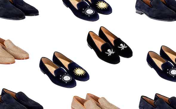 Stubbs & Wootton: slipper art