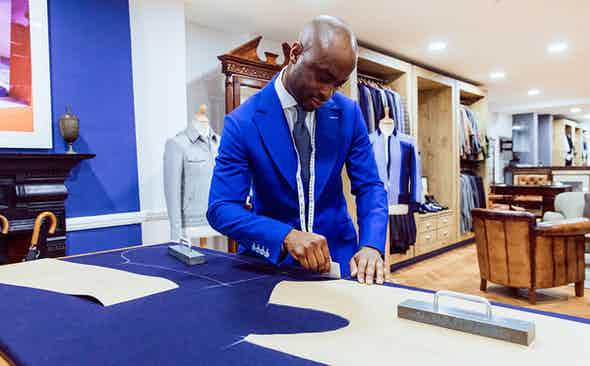 Lee Marsh Blue Label: Savile Row Style Meets Smart Streetwear