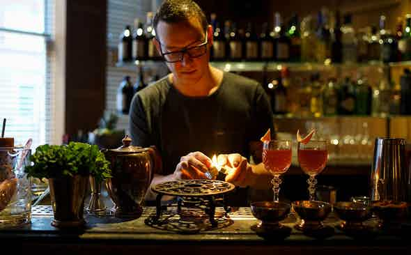 A Perfect Pairing: Davide Segat's Tea-Infused Tipples
