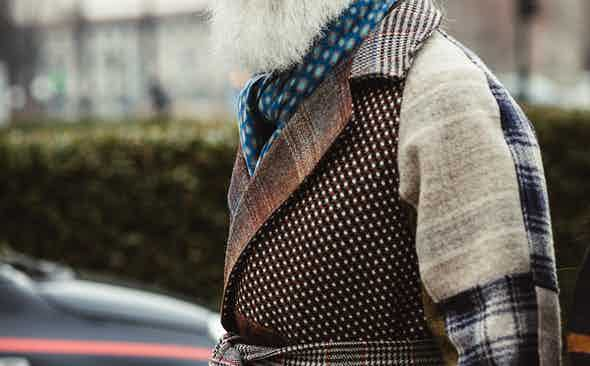 How to clash patterns for autumn