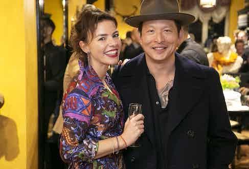 Chiara Rubinacci and Wei Koh