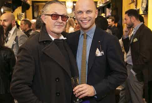 Nick Ashley and Luca Rubinacci.