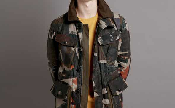 New! Limited Edition Camo Field jacket from TWC X The Rake