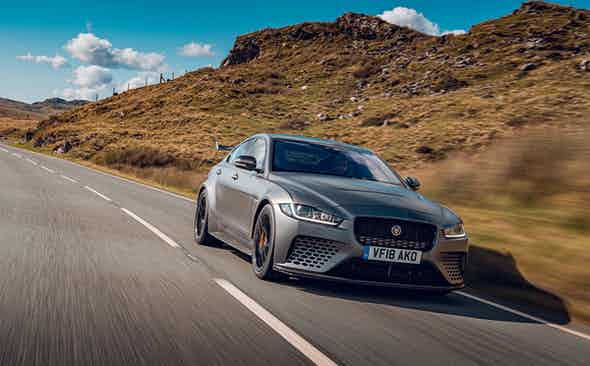 Fantastic Beasts and where to drive them: Jaguar Project 8