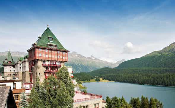 Badrutt's Palace: the centrepiece of St. Moritz