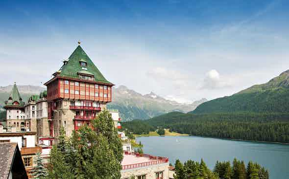 Badrutt's Palace: the centrepiece of St. Moritz