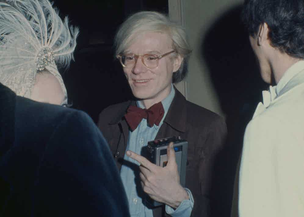 Andy Warhol in New York. (Photo by Tim Boxer/ArchivePhotos/Getty Images