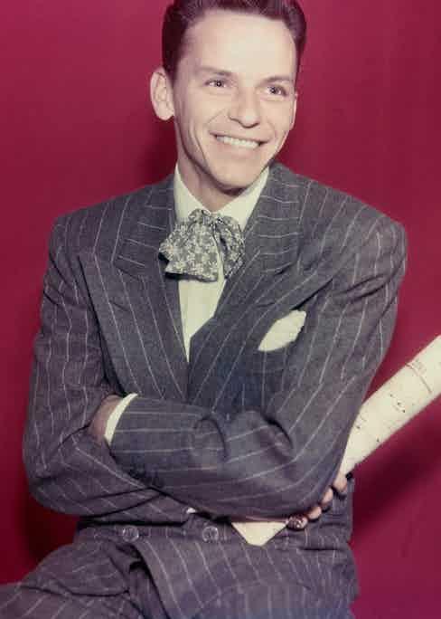 Frank Sinatra (Photo by Herbert Dorfman/Corbis via Getty Images).