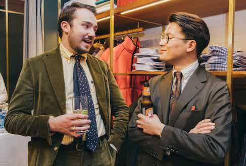 Matt Coles and Mark Cho