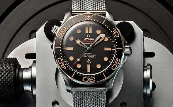 Omega Reveals James Bond's Next Seamaster Diver 300M