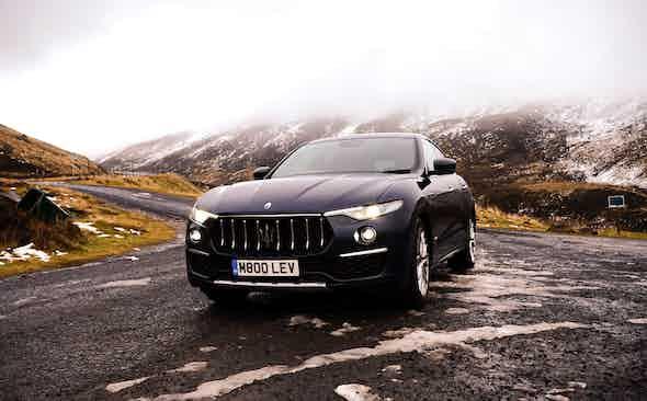 A highland fling in the Maserati Levante Gran Lusso