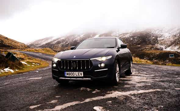A highland fling in the Maserati Levante Gran Lusso