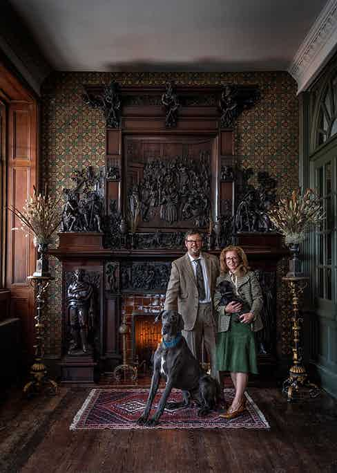 Iwan and Manuela Wirth, proprietors at The Fife Arms, Braemar.