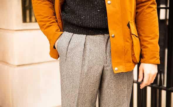 What we're wearing: Kit Blake Aleks trousers