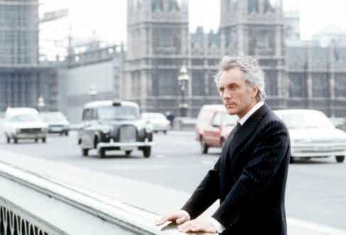 Photo by ITV / Rex Features (690893by) 'Chessgame'  TV - 1983 - Terence Stamp ITV ARCHIVE