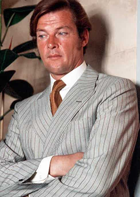 Photo by ITV/REX/Shutterstock (769988mx) 'The Persuaders'  - 'A Death in the Family' - Roger Moore. GTV ARCHIVE