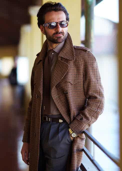 Giorgio Giangiulio (Photographed by Fabrizio di Paolo).