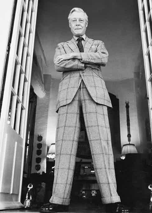 """The Duke of Windsor, wrote G. Bruce Boyer, """"wore his suits for years and years, including several he had inherited from his father and calculated to have lasted for more than sixty years!"""""""