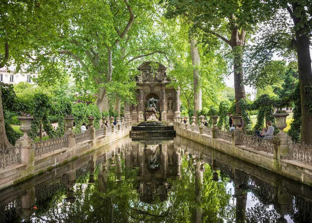 Medici Fountain, Jardin du Luxembourg.